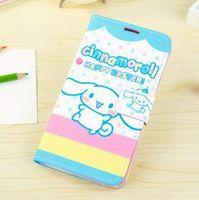 Ear Dog Cartoon Fashion Flip PU Leather Cases For Samsung Galaxy Note iii 3 N9000, Cute Cover for Samsung Galaxy Note 3 n9000