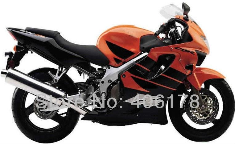 Hot Sales,Modified fairing For Honda CBR600 F4 1999 2000 CBR 600 F4 Orange & Black Fairings (Injection molding)(China (Mainland))