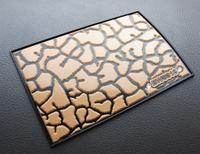 QP012 free shpping car advanced non slip pad/car silicar gel slip-resistant pad/diamond design slip-resistant mats auto supplies