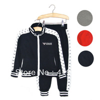 Hot sale!new arrive fashion style children clothing sets autumn cotton suits for boys 2pcs/set kids outwear free shipping