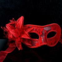 Fashion HandMade Party Wedding Lace Mask Dance Mask Costume Venetian Masquerade Christmas Docaration Flower Mask  free shipping