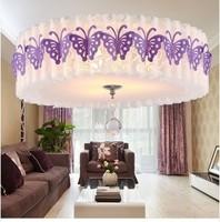 Modern brief small living room lights ceiling light fitting pvc balcony lights