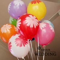 Gerbera 12 print balloon marriage decoration balloon qur01