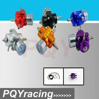J2 Racing Store- Universal Red Adjustable Fuel Pressure Regulator Gauge JDM FPR 1:1 0-140 PSI