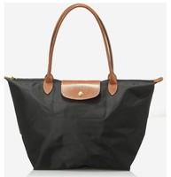 Promotion Original Designer Leather Bags Folding plastic Women Handbag /Shopping Hand Bag/Casual Nylon messenger shoulder tote