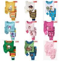 New Boys Girls Long Sleeve Pyjamas Baby Toddler Kids Sleepwear pjs 12style designs 2 -7 yrs