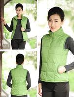 Hot selling female fashion waistcoat female winter Sleeveless jackets vest large size XL/XXL/XXXL/XXXXL Elegant solid color coat