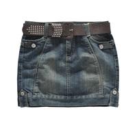 2014Pollera De Jeans denim short jeans woman skirt female fashion slim hip bust skirt with belt designer jeans hot saia jeans
