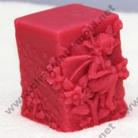 The Flower Child Lunlun Chocolate mold Cake mold cooky mold fairy mold R1011 rtv silicone rubber free shipping