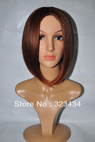 tow tone 2013 High Quality Lovely bobo Straight new style Synthetic Hair Wigs(Free Shipping)