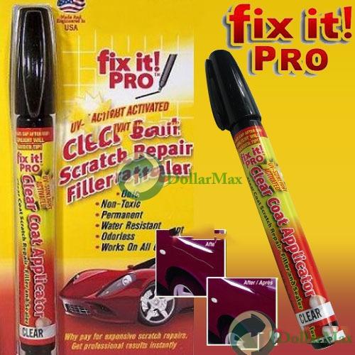 Free shipping: Fix It Pro Clear Car Coat Scratch Repair Pen for Simoniz wholesale(China (Mainland))