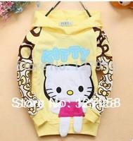 Children's clothing wholesale fashion double fish design boy modelling children hoodie kids sweatshirts 4pcs/lot Free shipping!