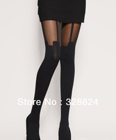 Mystere Seduction Pure Silk Stockings - Sexy Rare Luxury S M L Black Ivory