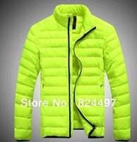 Men's down jacket Winter overcoat Outwear Winter jacket wholesale 7 colors, L-XXXL, Free shipping
