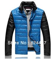 2013 New arrival Men's coat Winter overcoat Casual Unique design outwear Winter jacket Slim jacket wholesale
