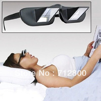 Wholesale 5pcs/lot New Lazy Creative Periscope Horizontal Reading TV Sit View Glasses On Bed Lie Down