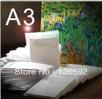 Free shipping! A3 light transfer paper heat transfer paper wholesale supplies wholesale sublimation transfer printing(A GRADE)