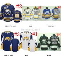 retro Custom buffalo sabres jersey discount hockey jerseys Home/Away/third Embroidery Logo Sewn on any name/NO.crosby jersey