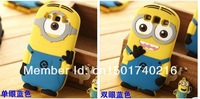 10pcs/lot s3 case Despicable Me 2 soft rubber silicone 3D minion cell phone cases covers to samsung i9300 S III Free Shipping