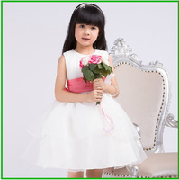 Formal Flower Girl Dress Communion Dresses Evening For Girls 85cm -135cm Ball Gown Little Toddler Girls Pageant Dresses