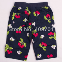 FREE SHIPPING M3800# Kids wear clothing  2013 fashion hot sale girls shorts wiht beautiful flowers Wholesale,2013 New Hot