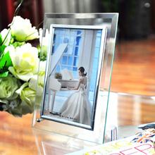 Crystal Photo Frame Swing Sets 5 Inch Frame Photo Frame Box  Photo Frame Set A Table Free Shipment(China (Mainland))