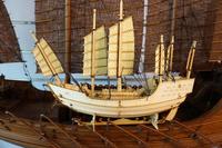 China sail boat ZHENG Hes Treasure-ship model Wooden model kit