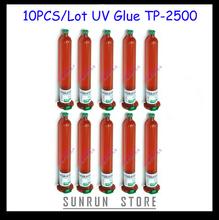Freeshipping 10PCS/Lot 50ML LOCA UV Glue TP-2500 For Samsung&Iphone&HTC Glass Refurbish Repair(China (Mainland))