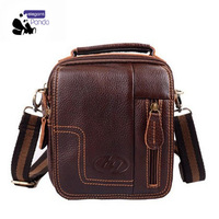 Free shipping 2013 fashion leather men's Messenger Bag Retro Shoulder Bag Hot models with designer Suitable for office, travel