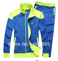 Free shipping 2013 new men's sportswear suit men's sports suit spring youth sports jacket male models