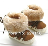 BX122 Korean Gift Cotton Shoes Prewalkers Footwear Baby Infant Toddler Boys Warm Winter Snow Shoes Boots