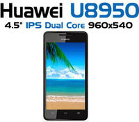 Huawei Honor+ U8950D dual-core mobile phone 1.2gHZ cpu 8.0M camera 4.5inch QHD screen 768MB RAM 4GB ROM russian google play