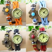 9 colors New Arrivals Vintage fashion ladies bracelet watch women dress watches quartz wrist watch