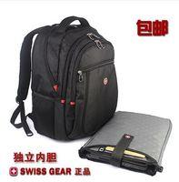 Swiss gear laptop backpack bag notebook bag 14 15 male women's backpack s007
