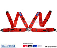 "Tansky - 2013 NEW 3""  Harness Belts 4 point CLIP IN FIA Approved Black, Blue, Red TK-SP4P Default Color is Black"
