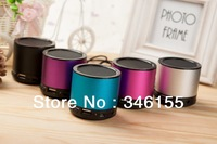 Free Shipping Digital Portable Speaker Mini Speaker for mp3 player loudspeaker box with fm radio mirco sd card reader