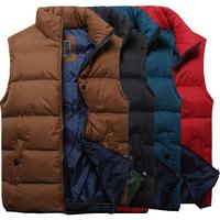 Hot sale spring autumn vest for male men casual waistcoat for men 4 colors