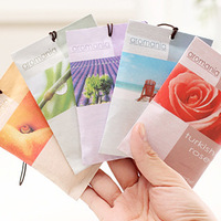 wholesale!10PCS/lot car essential air fresher  wardrobe Sachet  dehumidified air purification small sachets