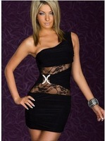 2013 USA HOT SALE clubwear dress SEXY  RHiNESTONE STUD BLiNG COWL DRAPE NECK TUNiC LOOSE WOMENS TOP BLOUSE  SEXY DRESS