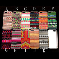 Unique Flower Ethnic Pattern Tribe Tribal Style Colorful Hard Case For Apple iPhone5 5G 5S Back Cover Protector Skin Housing