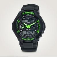 Relogios luxury Reloj Brand Gift fashion multifunctional jelly sports watch boys watch boy male table  cassio