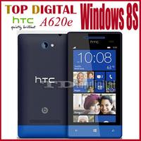 3pcs/lot Unlocked Original HTC 8S A620e  Windows 8 Phone Dual-core GPS WIFI Cell phone One year Warranty