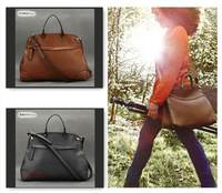 Free Shipping 2013 Winter Genuine Leather Bags Women's Leather Handbag Retro High Quality Messenger Bag