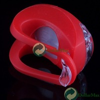 New arrive Silicone Bike Bicycle Rear Wheel LED Flash Light Red wholesale