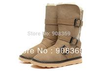 int'l Brand Genuine natural Australia suede,100%  wool lining new Black etc 1606 Women winte warm snow boot with original box