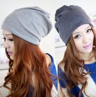 Brand 2014 New Unisex Cotton Hip Hop Ring Warm Beanie Cap Winter Autumn Women Knitted Hats Men Beanies Free Shipping