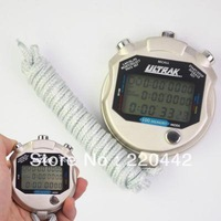 HOT! Professional LCD Digital Sports 100 Lap Memory Stopwatch Timer Chronograph,Free Shipping