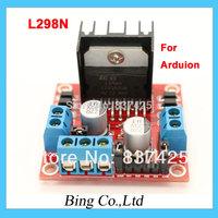 New Dual H Bridge DC Stepper Motor Drive Controller Board Module L298N for Arduino Free Shipping TK0450