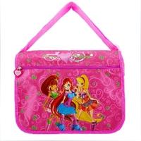 Free shipping New Winx Bag WinX Club Messenger Bags Children Cartoon Shoulder Bags  Kids School Bags for Girls
