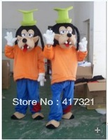 2014 hot sell adult goofy dog mascot costume
